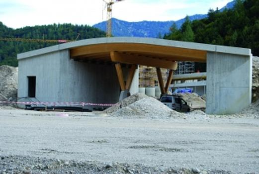Biathlonbrücke Chiemgau-Arena