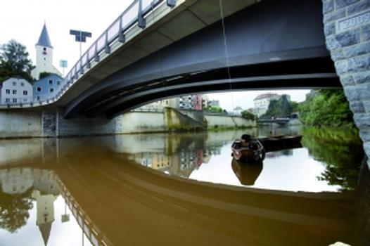 Die neue Brücke über die Ilz (Foto: Staatliches Bauamt Passau)