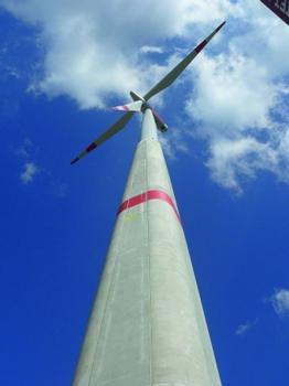 Hybridturm nach der Fertigstellung (Fotos: ATS)