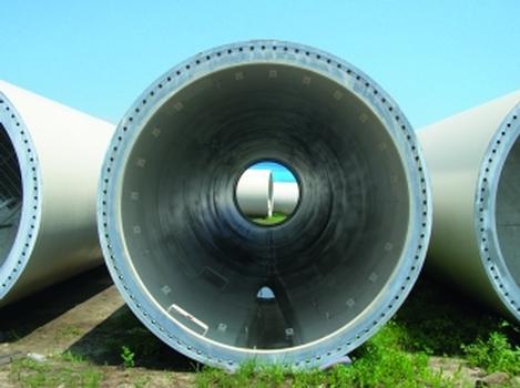 Bauteile für die Zephyros Wind Mills in Taiwan (Fotos: Zinga)
