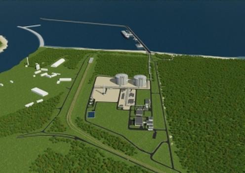 Der Bau des ausen gelegenen Hafens ist verbunden mit der regierungspolitischen Entscheidung zur Ausweitung des Imports v