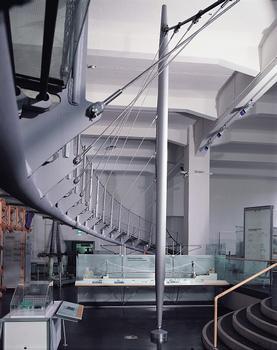 Visitor's Bridge at the bridge exhibit of the Deutsches Museum, Munich.