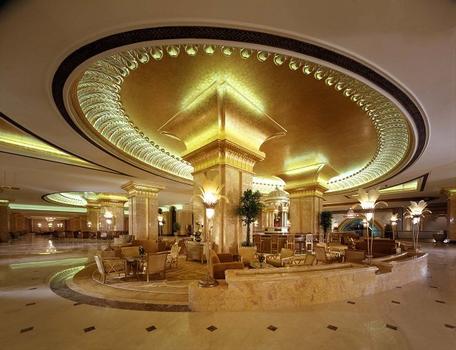 Emirates Palace Hotel  Avec l'aimable permission de  Emirates Palace - Abu Dhabi  Managed by Kempinski  P O Box 39999, West Corniche, Abu Dhabi, UAE