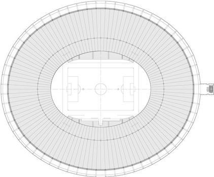 Stade Macaraná - plan