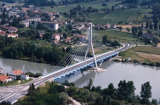 Seyssel-Brücke.