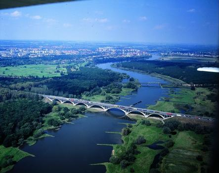 Oder Bridge at Frankfurt on the Oder