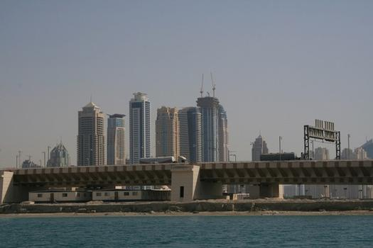 Palm Jumeirah Gateway Bridge, Dubai