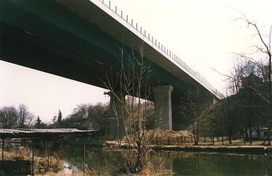 Pont Kalkgraben à Rüdersdorf