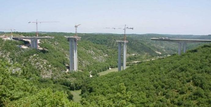 Rauze Viaduct, France