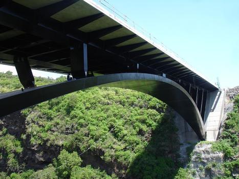 Route des Tamarins - Viaduc de la ravine Fontaine
