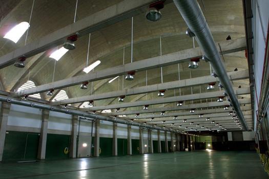 Neue Fischmarkthalle im Hafen von Santander.