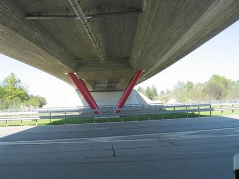 Lochhausener Strasse Overpass crossing the A8