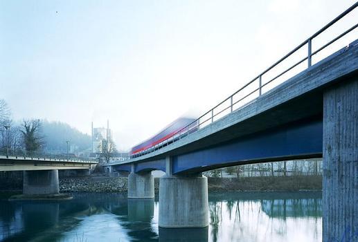 Eisenbahnüberführung Schongau über den Lech