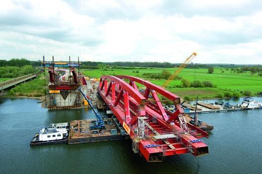 Zwolle Railroad Bridge, Spectacular new bridge over the Ijssel