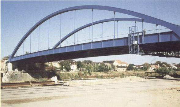 Hafenbrücke Riesa
