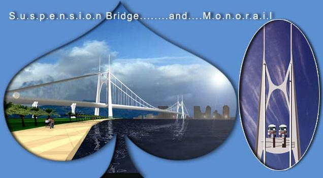 Monorail Suspension Bridge, Putrajaya