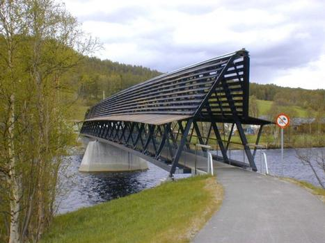 Os Footbridge, Norway