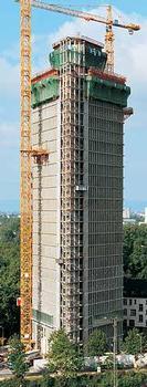 Victoria-Turm, Mannheim : Victoria-Turm, Mannheim – Nach seiner Fertigstellung wird der Victoria-Turm mit seinen 97 m Höhe das höchste Gebäude Mannheims sein