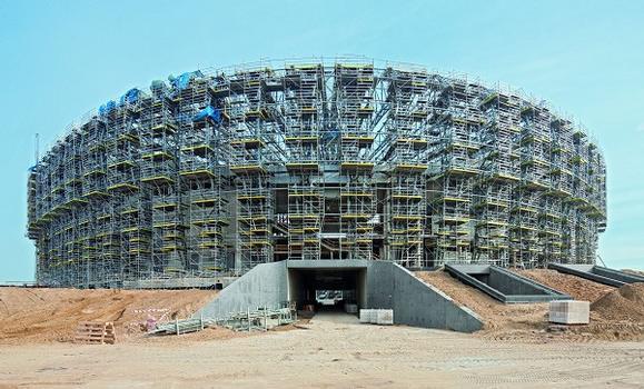 Die PGE Arena in Danzig wurde neu errichtet und verfügt über eine Zuschauerkapazität von 44.000 Plätzen