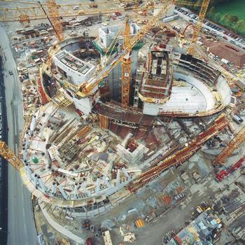 Übersicht Baustelle; Stand Oktober 2004