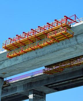 Mithilfe des VARIOKIT Baukastensystems lassen sich Tragwerke kostengünstig herstellen – bei maximaler Anpassungsfähigkeit an die Baustellenerfordernisse und die jeweiligen Bauwerksabmessungen