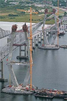 Arthur Ravenel Jr. Bridge: Cooper River Bridge - Longest cable stay span in North America