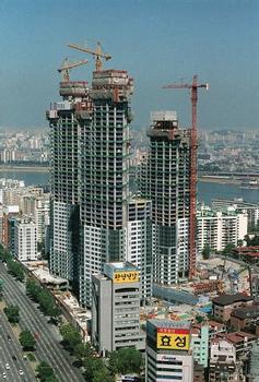 I-Park-Wohnungsbauprojekt in Seoul.