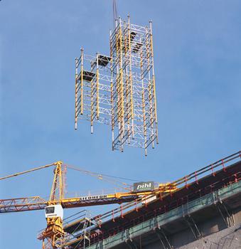 Théâtre royal danois à Copenhague en construction