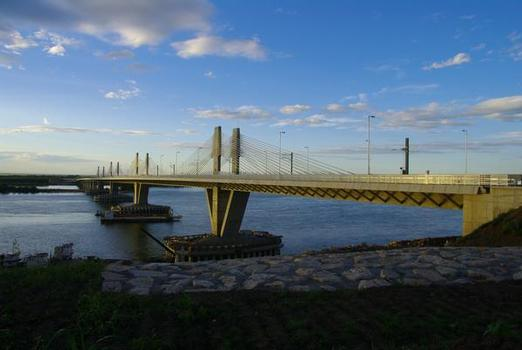 Vidin-Calafat bridge linking Romaina and Bulgaria