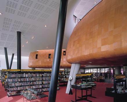 Peckham LibraryIntérieur du quatrième étage
