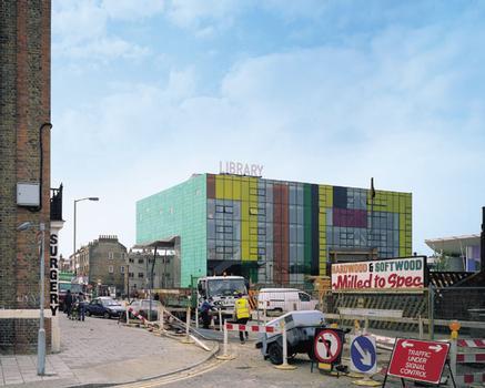 Peckham LibraryFaçade nord