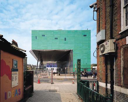 Peckham LibraryVue de l'Est