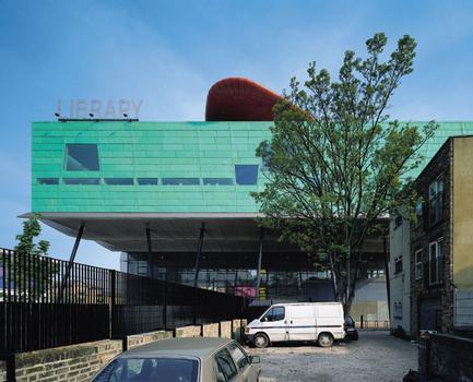 Peckham LibraryVue partielle du Sud