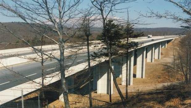Bandera-Brücke.