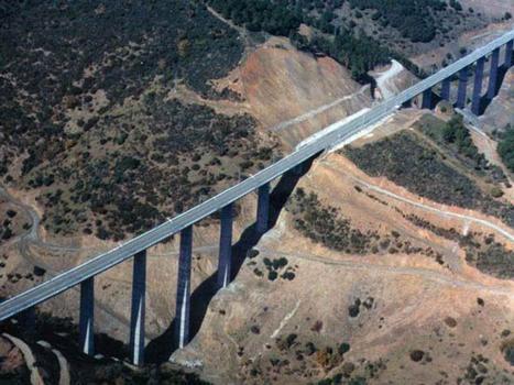 Viadukte im Abschnitt Adamuz-Villanueva