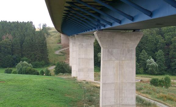 Fernüberwachungssystem Robo®Control an der Steinbachtalbrücke