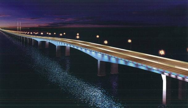 Pont Dong-Hai à Luchaogang