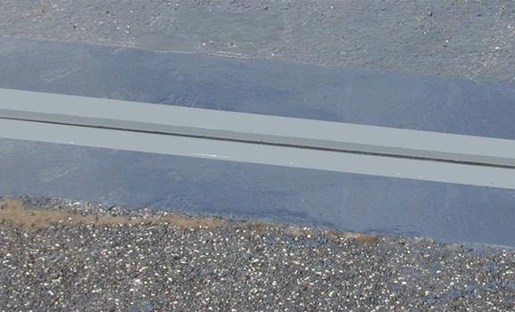 Detail of the finished RE Expansion Joint