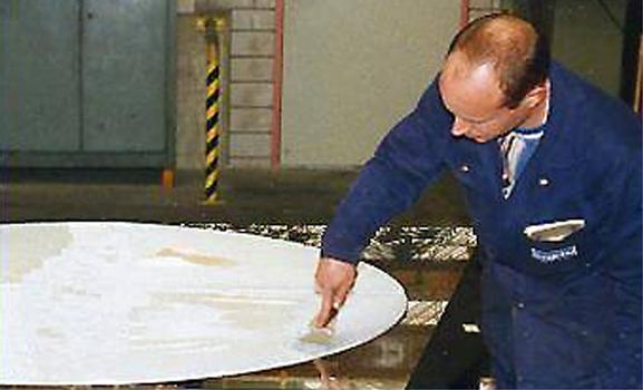 De la graisse de silicone de qualité enduit la plaque PTFE