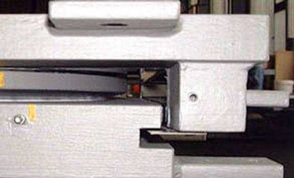 Detailansicht eines fertiggestellten mageba Kalottenlagers