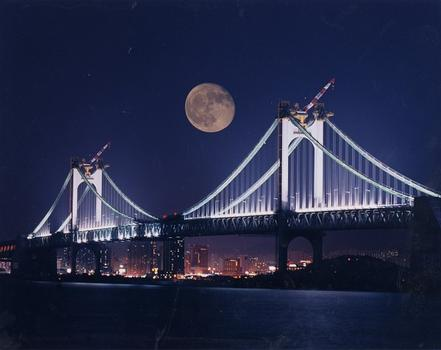 Grand pont de Kwang Ahn à Busan