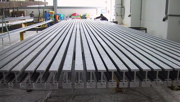 Trial assembly of the biggest Modular Expansion Joint in the world (type LR27, max. 2160 mm)