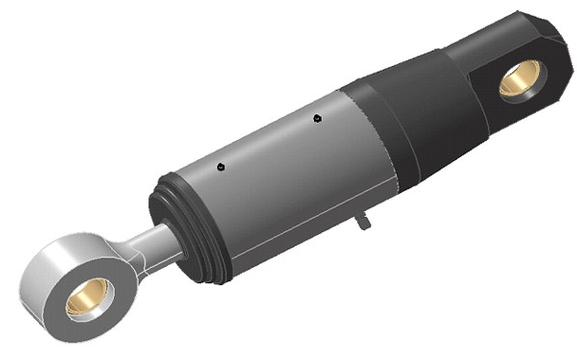 Piston, piston rod and cylinder liner are the main components