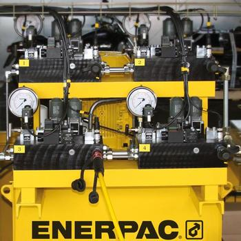 The hydraulic power pack for the Synchronous Lifting System