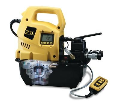 ZE electric pump by Enerpac