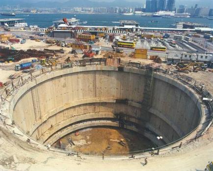 Hong Kong International Finance Centre North East : BSG - Northern Basement Shaft (internal)