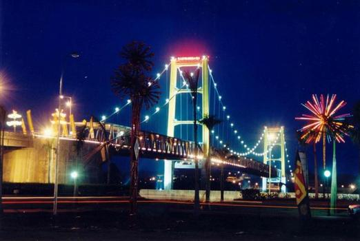 Kutai Kartanegara Bridge, Indonesia