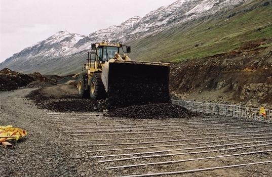 Einbau des System TerraTrel™ in Neskupstadur