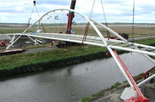 Brücke in Zaanstad/Niederlande