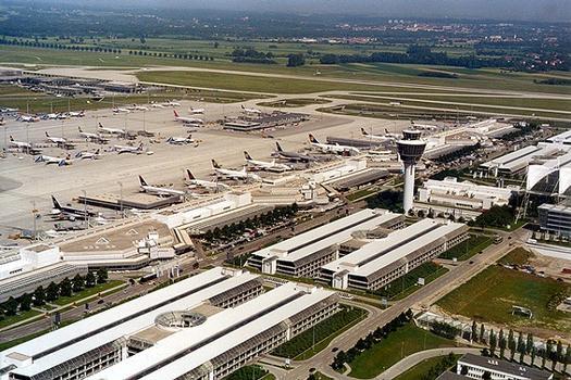 Aéroport de Munich: Section passager